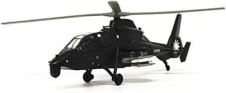 1/100スケールの航空機モデル、Militaryiranwz-19ガンシップモデル、子供のおもちゃやギフト、5.3Inch X