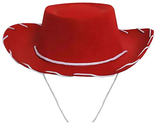 Children's Cowboy/Cowgirl Red Hat Costume Jessie Style]()