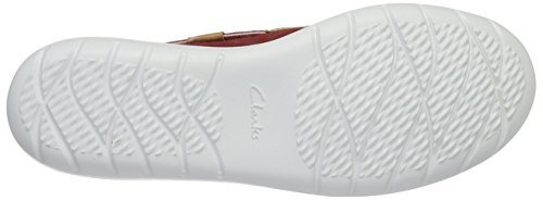Blue Jocolin Boat Shoes Vista Clarks Red Women's O5x7wtX