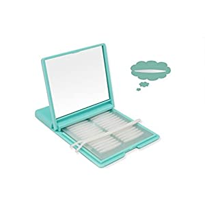 1000PCS/500Pairs Portable Breathable Naturally Invisible Double Eyelid Tape Self-Adhesive Double Eyelid Stickers Instant Eye Lift Strips With Portable Packing Box (Green Box)