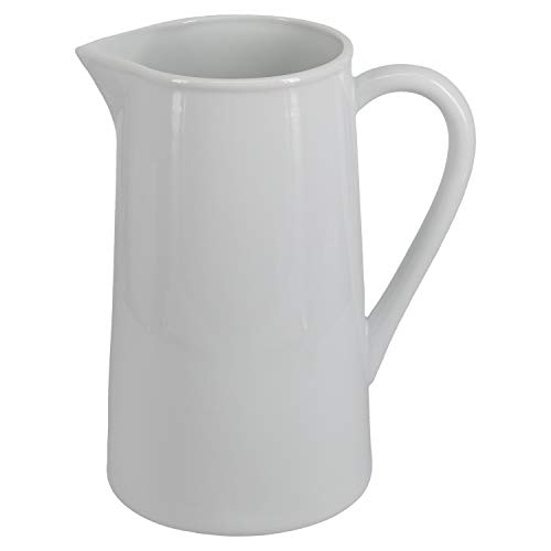 (BIA Cordon Bleu 900911S1SIOC Porcelain Straight Sided Pitcher One Size White)