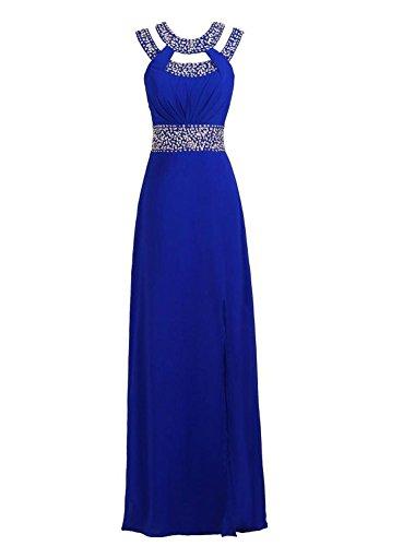 Vestito Donna ad Mall maniche linea Blu Bridal Senza a OU5pwxvq1