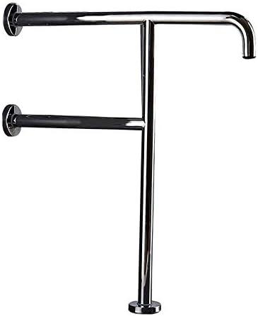 浴室304ステンレス鋼安全グラブレール、高齢者用トイレ補助サポートバーバランスハンドルタオル掛け