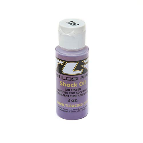 Team Losi Racing Silicone Shock Oil, 100wt, 2oz, TLR74018