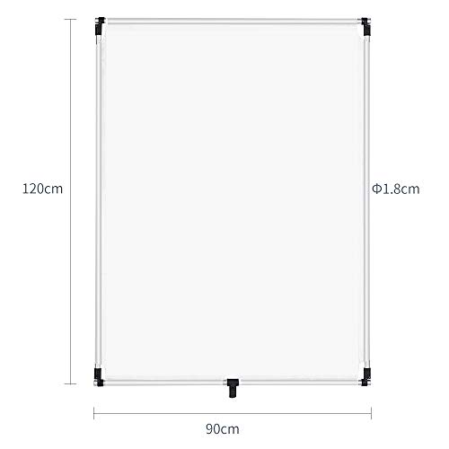 OPEN DRAWER Sun Scrim 2.95 x 3.9 feet / 35 x 47 inch 5in1 Panel Sun Scrim Translucent Soft Cloth and Gold/Silver/Black/White Diffuser Reflector Aluminum Alloy Frame Compatible Video Photography by OPEN DRAWER (Image #1)