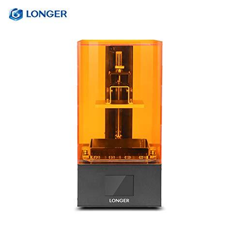 Orange 10 Longer Imprimante 3D LCD Imprimante 3D SLA 3D Support Intelligent Résine UV photopolymérisable Taille d'impression 98 x 55 x 140mm