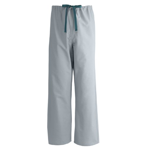 Medline 600NGTL-CA Pant, Scrub, Rev, A-Stat, Charcoal, MDL-Cc, Sm
