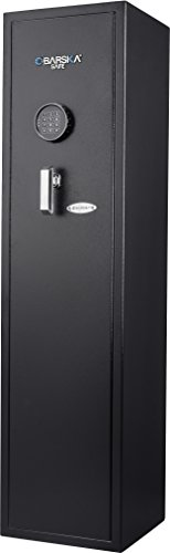 Barska AX13100 4.33 Cubic Foot Keypad Rifle Safe, One Size, Black