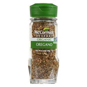 McCormick Organic Oregano .5 oz (Pack of 3)
