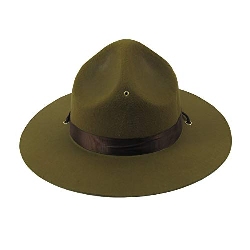 TG,LLC Green Park Forest Ranger Hat Adult Trooper Costume Accessory Movie Theater Prop ()