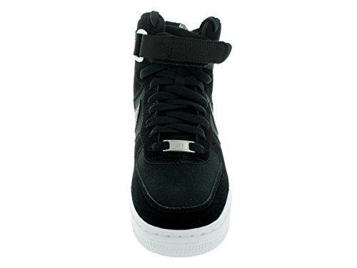 Nike Youth Air Force 1 High Jungen Basketballschuhe Schwarz / Schwarz / Weiß