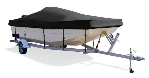 Taylor Made Products Trailerite Semi-Custom Boat Cover for Center Console Bay Style Boat with Outboard Motor (18'6