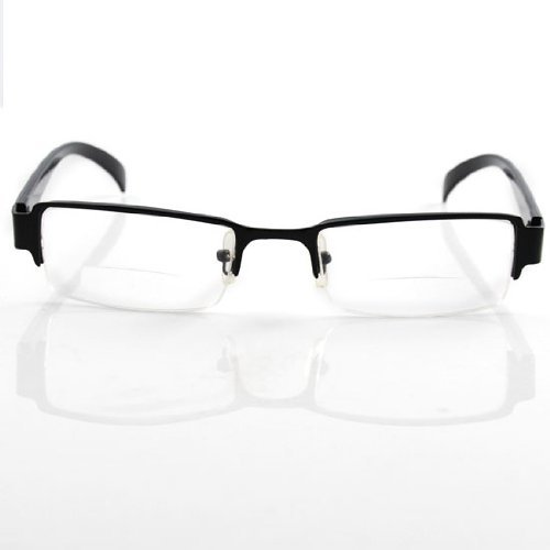 Excellent Bifocal Half-frame Reading Glasses +2.0