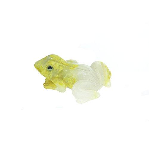 Geo Evolution Polished Serpentine Frog Metaphysical Animal Carving