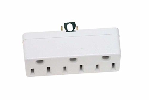(2to3 Plug In Adapter Wh)