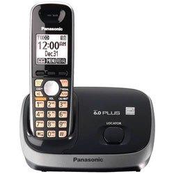 (Panasonic KX-TG6511B DECT 6.0 PLUS Expandable Digital Cordless Phone, 1 Handset, Black)