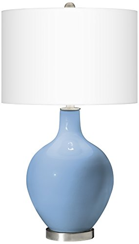 Placid Blue Ovo Table Lamp (Blue Ovo Table Lamp)