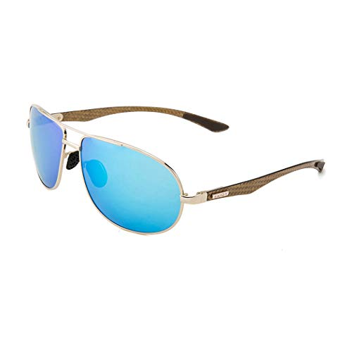 TAIQX Polarized Military Aviator Sunglasses 63mm Classic Frame with Accessories