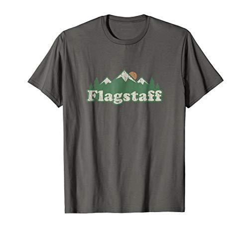 Flagstaff Arizona AZ T Shirt Vintage Hiking Mountains - Vintage T-shirt Az