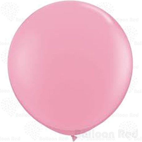 36 Inch Giant Jumbo Latex Balloons (Premium Helium Quality), Pack of 3, Pink