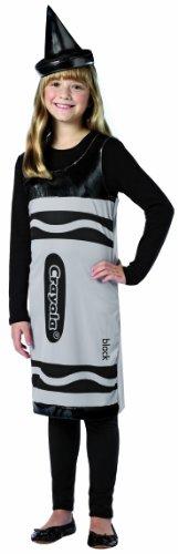 Rasta Imposta Crayola Tank Dress, Black, Tween 10-12 -