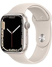 Apple Watch Series7 (GPS, 45mm) - Starlight Aluminium Case, Starlight Sport Band