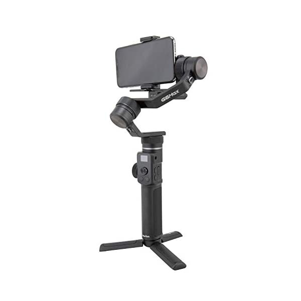 FeiyuTech G6MAX - Stabilizzatore universale portatile integrale a 3 assi per telefoni cellulari, Sony RX100 / A6300 / A6400 / A6500, videocamera DSLM Mirrorless e videocamera d'azione Gopro, Sony RX0 7 spesavip