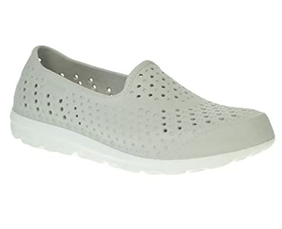 d3146034fc83 Skechers Womens Ladies Grey H2GO Sporty Water Casual Shoes Size 5  Amazon.co .uk  Shoes   Bags