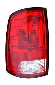 09 - 13 Dodge Ram 1500 Truck Driver Taillamp Taillight 10 - (1500 Truck Side Lights)