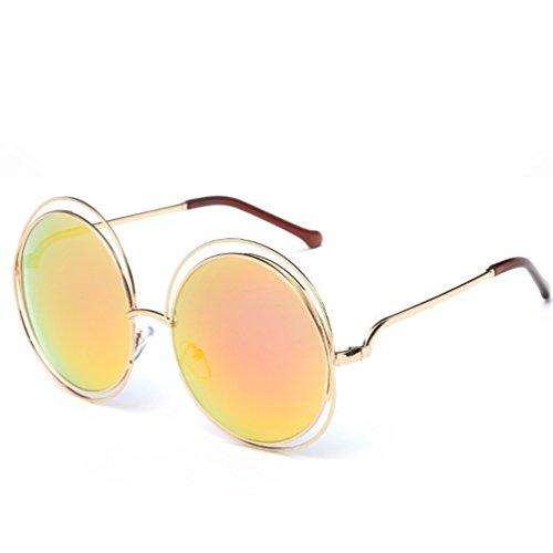 Redondas Mujer Protección Sol de Gafas para YANJING 11 Sol 6 Gafas de para Sol Gafas UV Color Unisex de ZYXCC w1IxxqS8n