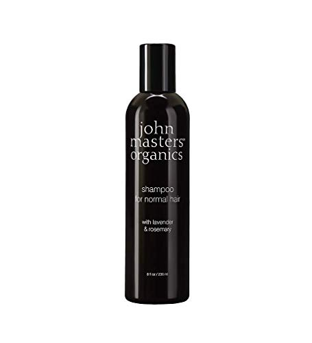 John Master's Organics Shampoo for Normal Hair with Lavender Rosemary, 8 Ounces