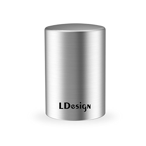 Beer Bottle Opener, LDesign Stainless Steel Automatic Bottle Opener to Remove the Bottle Caps of Beer, Carbonated Drinks, Sparkling Water, Soda, No Damage to Caps