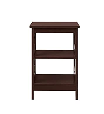 Convenience Concepts 203210ES Omega End Table, Espresso