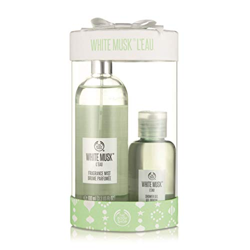 The Body Shop White Musk L'eau Mist & Shower Duo, 5.41 Fluid Ounce