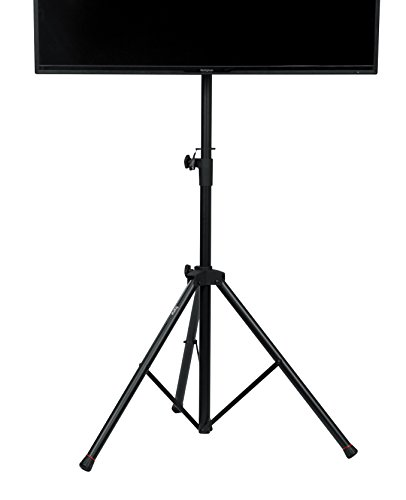 - Gator Cases GFW-AV-LCD-1 Gator Frameworks Standard Adjustable Tripod LCD/LED TV Monitor stand for Screens up to 48
