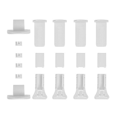 Lichtblick Klemmträger und Zubehör Montage-Set für Klemmfix Plissee PKV