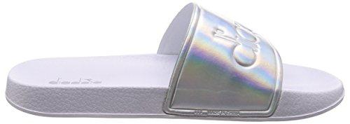 Diadora Per Ciabatte Argento Donna Serifos 90002 Wmn '90 r8rA1P