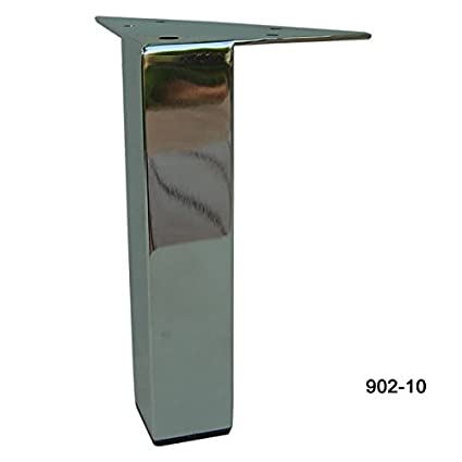Exceptionnel Metal Furniture Legs Sofa Feet 10u0026quot; Brass Or Chrome Square Metal Legs  For Furniture (