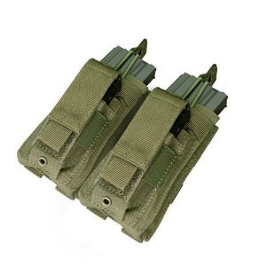 Condor Double Kangaroo Mag Pouch Olive Drab by Condor Outdoor (Image #1)