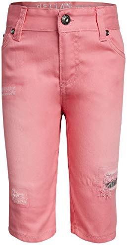 dELiA*s Girls Stretch Denim Bermuda Shorts, Pink Sequins, Size 16'