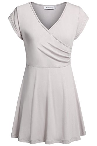 dress with ruched waist - 8