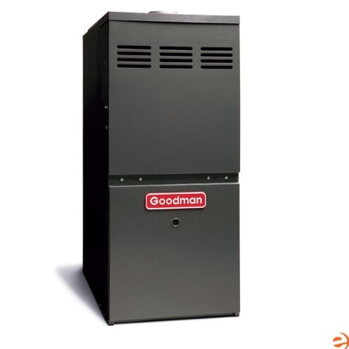 - Goodman GMVC81005CX Gas Furnace, Two-Stage Burner/Variable-Speed Blower, Upflow/Horizontal Low NOx ComfortNET Compatible 80% AFUE - 100,000 BTU