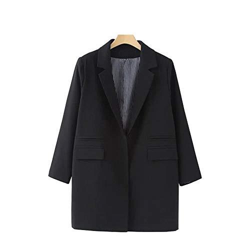 Femme Bureau Manteau Dames Blazers Top De Blazer Wjmm Femmes Automne Black2 FngZ5xqw