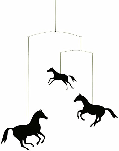 Flensted Mobiles Horse Hanging Nursery Mobile - 18 Inches Plastic by Flensted Mobiles