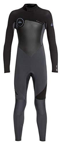 Quiksilver Boys 4/3Mm Syncro Series - Back Zip GBS Wetsuit for Boys 8-16 Back Zip GBS Wetsuit Black - Zip Back Gbs