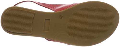 Conti 021 Scarpe Andrea Rosso rot Donna Col 1745712 Tacco O8S7xw