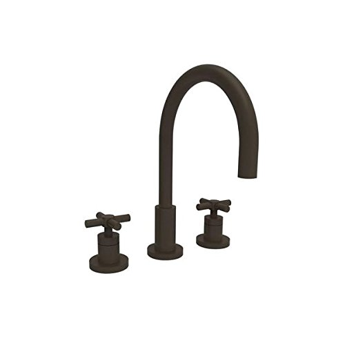 [Newport Brass 990 East Linear Double Handle Widespread Lavatory Faucet with Meta, Oil Rubbed Bronze] (Bronze 990 Double Handle)