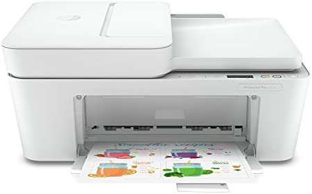 HP DeskJet Plus 4152 Wireless All-in-One Color Inkjet Printer, Mobile Print, Scan & Copy, Instant Ink Ready, 7FS74A (Renewed)