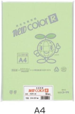 ニューカラーA4 50枚こいクリーム 190-443
