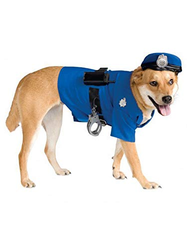 Police Dog Halloween Costume (Rubie's Big Dog Police Dog)